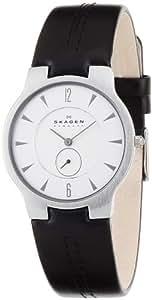 [スカーゲン]SKAGEN 腕時計 basic leather mens 433LSLC ケース幅: 34mm Ultra Slim メンズ [正規輸入品]