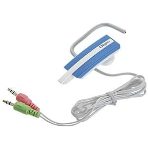 ロアス コンパクトイヤフォンマイク ブルー MHM-M11ULB