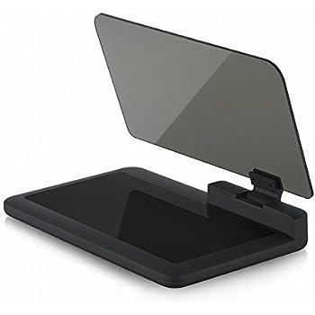 HUD 最大6インチに対応 GPS ヘッドアップディスプレイ スマートフォン 安全運転 角度調整可能  ブラケット プロジェクタ カーアクセサリ