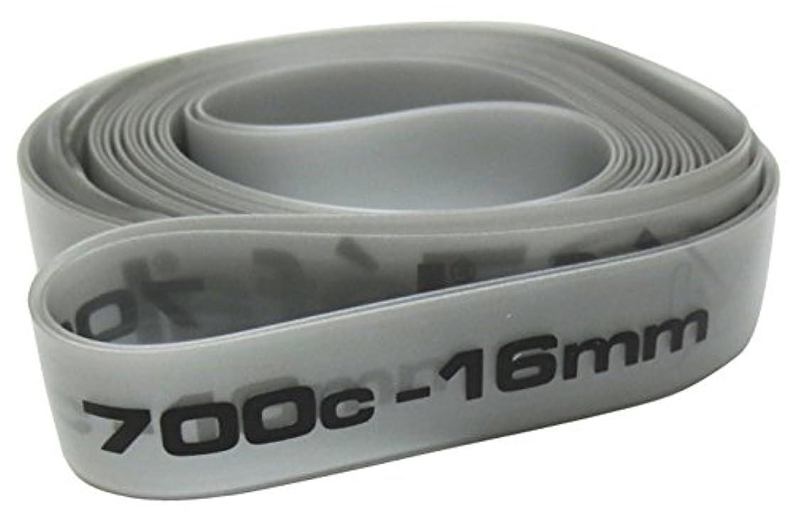 一緒乗算ピアニストZefal(ゼファール) SOFT PVCリムテープ 700C-16mm グレー 9350