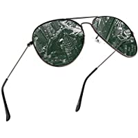 GS&GM Square Polarized Sunglasses HD Vision Polarized Sunglasses Aviator Sunglasses