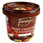 ロイヤルガストロ Favarger(ファバラジー)のチョコフォンデュ専用チョコレート(単品販売/300g/7~8人分で1回分)・ギフト包装