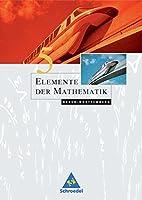 Elemente der Mathematik 5. Schuelerband. Baden-Wuerttemberg: Sekundarstufe 1. Zu den neuen Bildungsstandards. Ausgabe 2004
