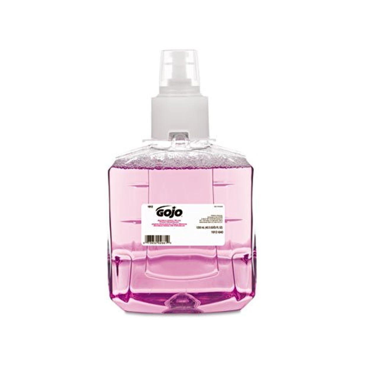 他の場所体スリットGOJO抗菌泡手洗い、詰め替え、プラム、1200 ml詰め替え、2 /カートン