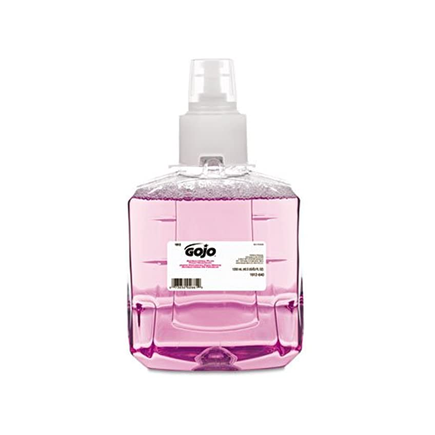 ラジエーター絶壁シーサイドGOJO抗菌泡手洗い、詰め替え、プラム、1200 ml詰め替え、2 /カートン