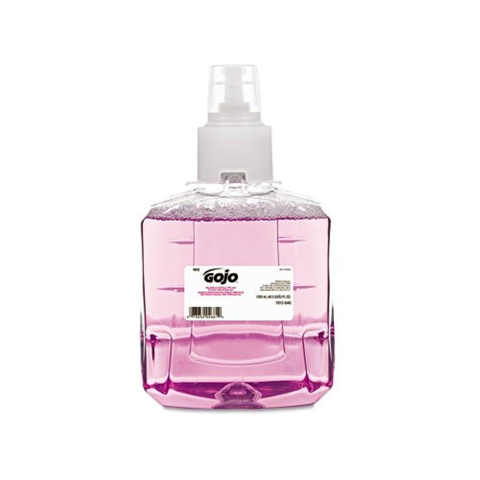 悩み開拓者敬GOJO抗菌泡手洗い、詰め替え、プラム、1200 ml詰め替え、2 /カートン