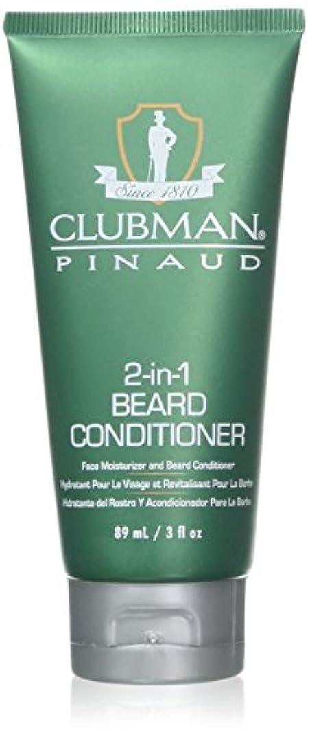 論理的算術アラバマClubman 髭2-IN-1コンディショナー3オンスチューブ(88Ml)(2パック)