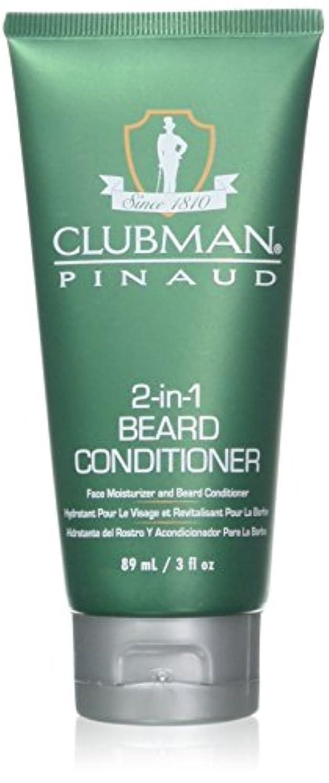 繁殖対象著名なClubman 髭2-IN-1コンディショナー3オンスチューブ(88Ml)(2パック)