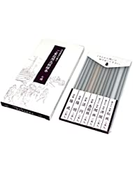 gyokushodo Japanese Agarwood Incense Stick Sampler – 5.5インチ – 7種類2 Sticks各 – 日本製 – Aloeswood – Oud