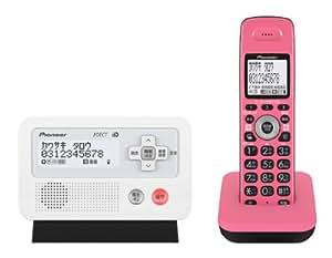 パイオニア TF-FD30S デジタルコードレス電話機 子機1台付き ピンクブラック TF-FD30S-PK  【国内正規品】