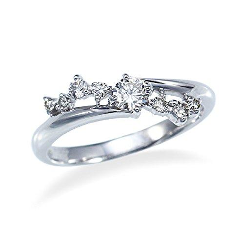 [ジュエリーツツミ]JEWELRY TSUTSUMI プラチナダイヤモンドリング RFR716 14号