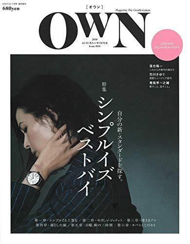 OWN 2018 AUTUMN&WINTER (MEN'S ...