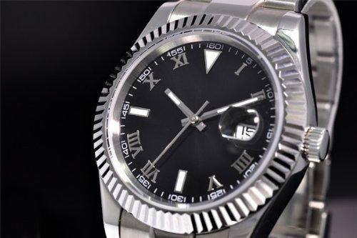 ノーロゴ 腕時計 自動巻き デイトジャスト NL-042SB3AS(並行輸入品)