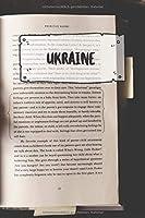Ukraine: Liniertes Reisetagebuch Notizbuch oder Reise Notizheft liniert - Reisen Journal fuer Maenner und Frauen mit Linien