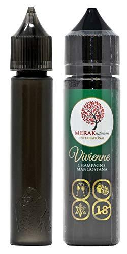 [セット品] Vivienne CHAMPAGNE MANGOSTANA 60ml 【MERAK infusion/メラク インフュージョン】 ヴィヴィアン シャンパン マンゴスチン 電子タバコ リキッド (シャンパン・マンゴスチン風味) 正規品 2点セッ