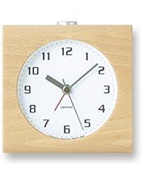 Lemnos Block アラーム時計 ホワイト PA08-30 WH