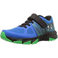 Under Armour Boys' Pre School X Level Prospect Alternate Closure Sneaker Blue Circuit (401)/Black 2.5