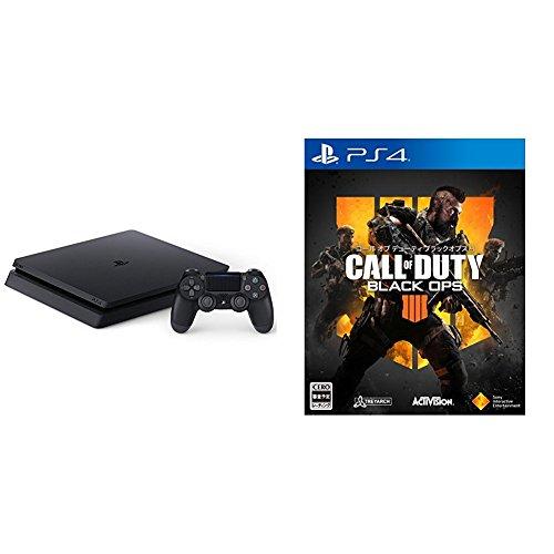 PlayStation 4 ジェット・ブラック 1TB (CUH-2200BB01)+【PS4】コー...