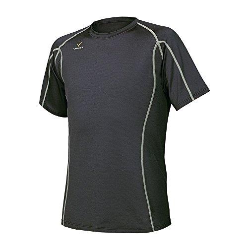 VENEX  ( ベネクス ) リカバリーウェア リチャージショートスリーブ メンズ ファントムブラック M インナー Tシャツ 半袖 パジャマ
