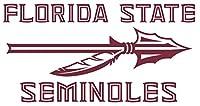 ncaa0450 フロリダ州立大学セミノールズ ロゴ ダイカット ビニール グラフィック デカール ステッカー NCAA