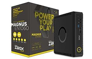 ZOTAC ZBOX MAGNUS EN1060 Gaming Mini PC, Intel Skylake Core i5-6400T NVIDIA GeForce GTX 1060 VR Ready, Whisper Quiet, Ultra Compact, 4K Quad Display No Memory/Storage/OS (ZBOX-EN1060-U) by ZOTAC