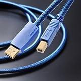 フルテック ハイエンドオーディオグレードUSBケーブル 【A】タイプコネクターオスと【B】タイプコネクターオス (0.6m) GT2 USB-B/0.6m