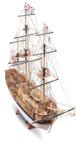 木製帆船模型 マモリ社 MV52 バウンティ小 H.M.S. BOUNTY