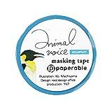 ペパラブル アニマルボイス マスキングテープ (ペンギン) YKP90-4650