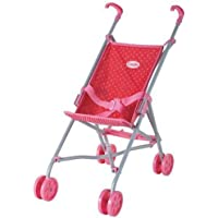 Corolle Les Classiques Doll Accessories (Red/Fuchsia Umbrella Stroller) by Corolle [並行輸入品]