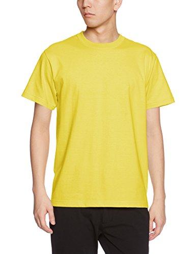 ユナイテッドアスレ 5.6オンス ハイクオリティー Tシャツ 500101 021 イエロー L