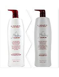 L'anza Healing Colorcare Color-preserving Shampoo + Conditioner Dou (33.8 oz (1Liter)) by L'anza