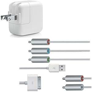 【Apple純正】 アップル 5W USB Power Adapter Model No.A1205 ※Composite AV Cable MB129LL/Aセット商品 1215-2
