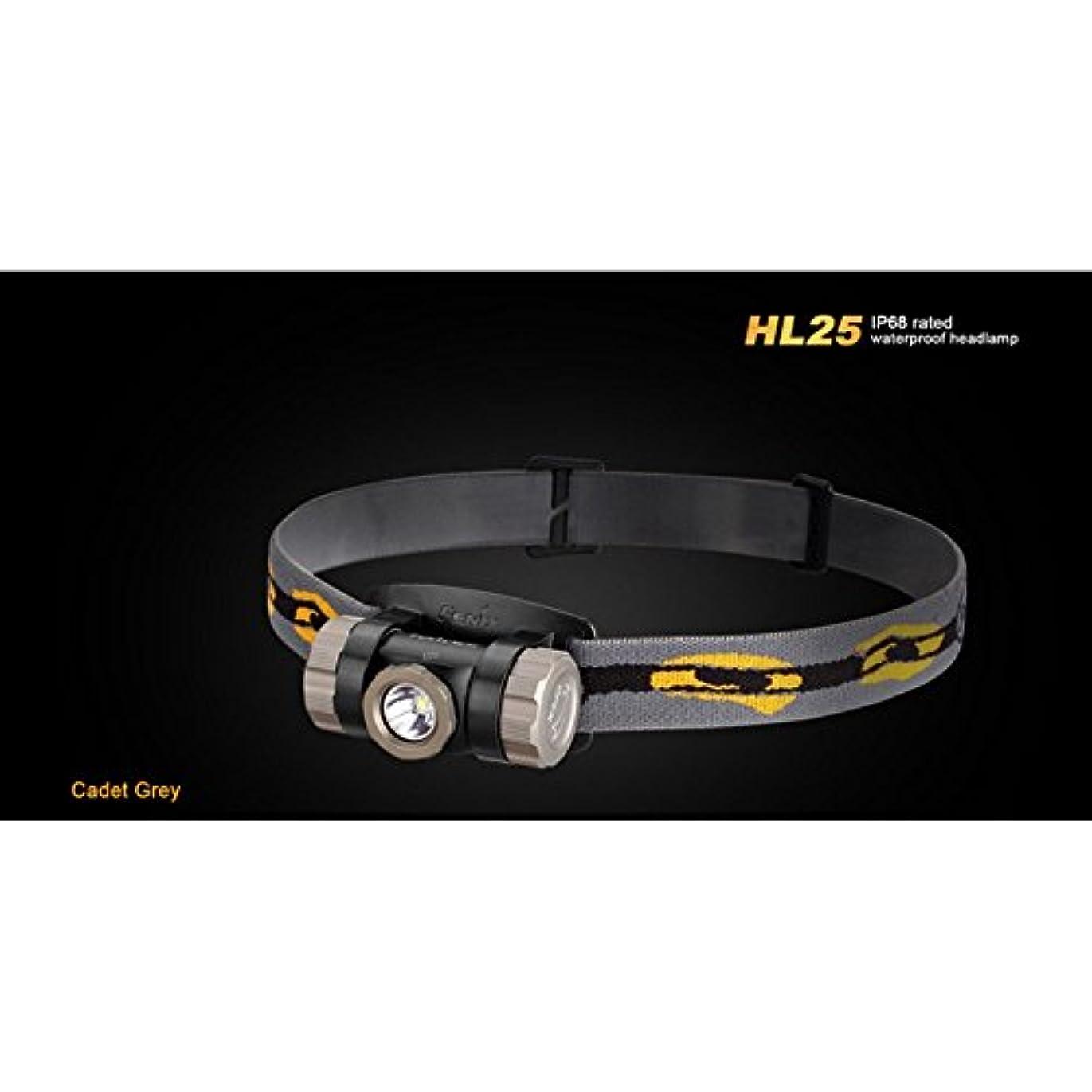 はげ垂直ハングFenix HL25 3AAA Waterproof Cree XP-G2 R5 LED Headlamp,280 Lumens FENIX-HL25-GREY by Fenix Flashlights
