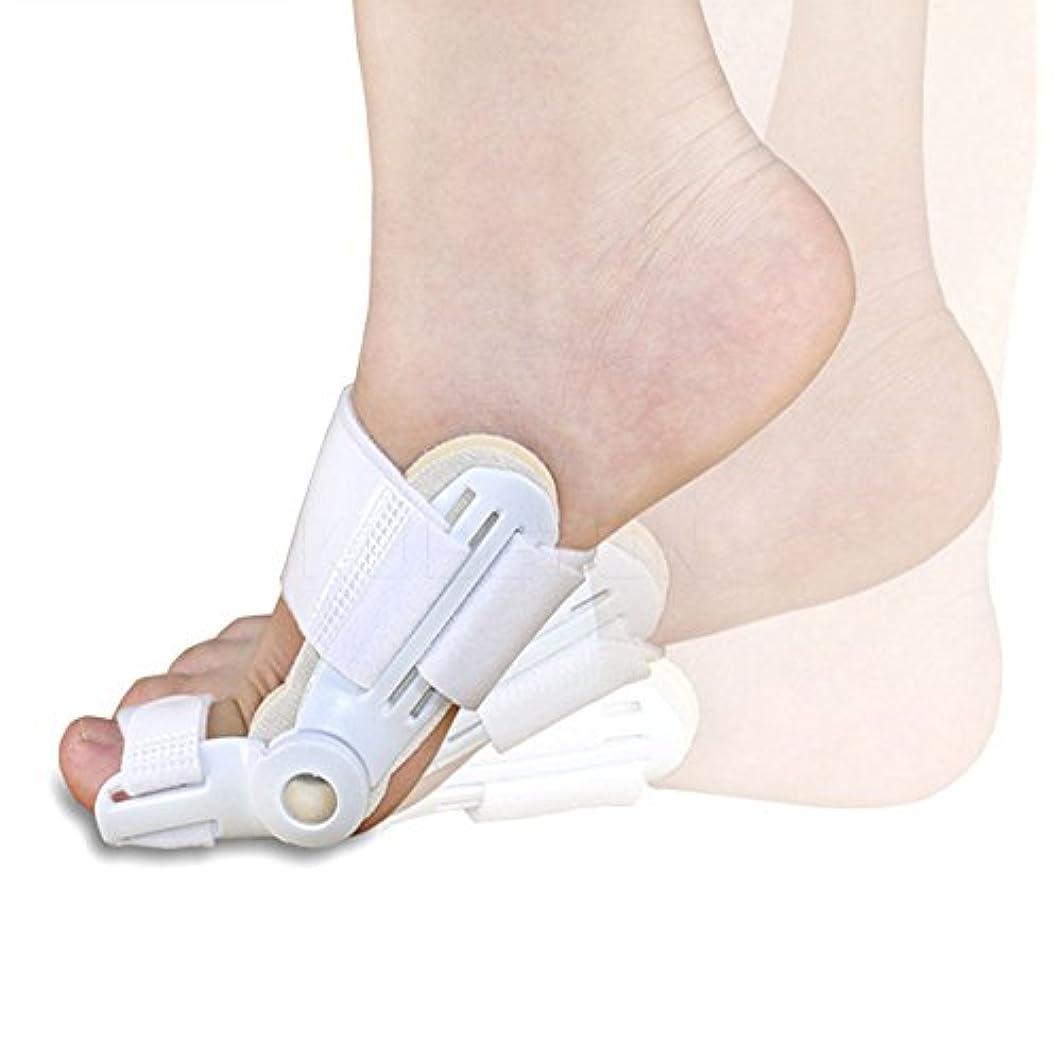 すぐにズーム孤独つま先セパレーター腱膜矯正最新強化された外反母趾矯正整形つま先痛み足ケア2ピース