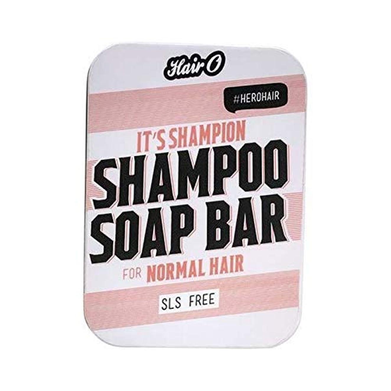 パイ表示チョコレート[Hair O ] それのShampionシャンプー石鹸バー100グラムO毛 - Hair O It's Shampion Shampoo Soap Bar 100g [並行輸入品]