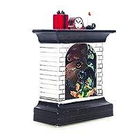 2019ハロウィンヴィンテージカボチャ暖炉LEDライトハンギングウィンドライトポータブルハンギングランタンハロウィンパーティー用品家の装飾C黒猫ワンサイズ
