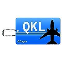 Cologne ドイツ - 鉄道サービス(QKL)空港コード IDカード荷物タグ