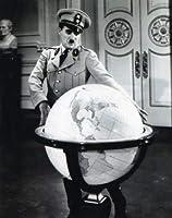 ブロマイド写真★チャールズ・チャップリン/『独裁者』/地球儀を見下ろすヒンケル