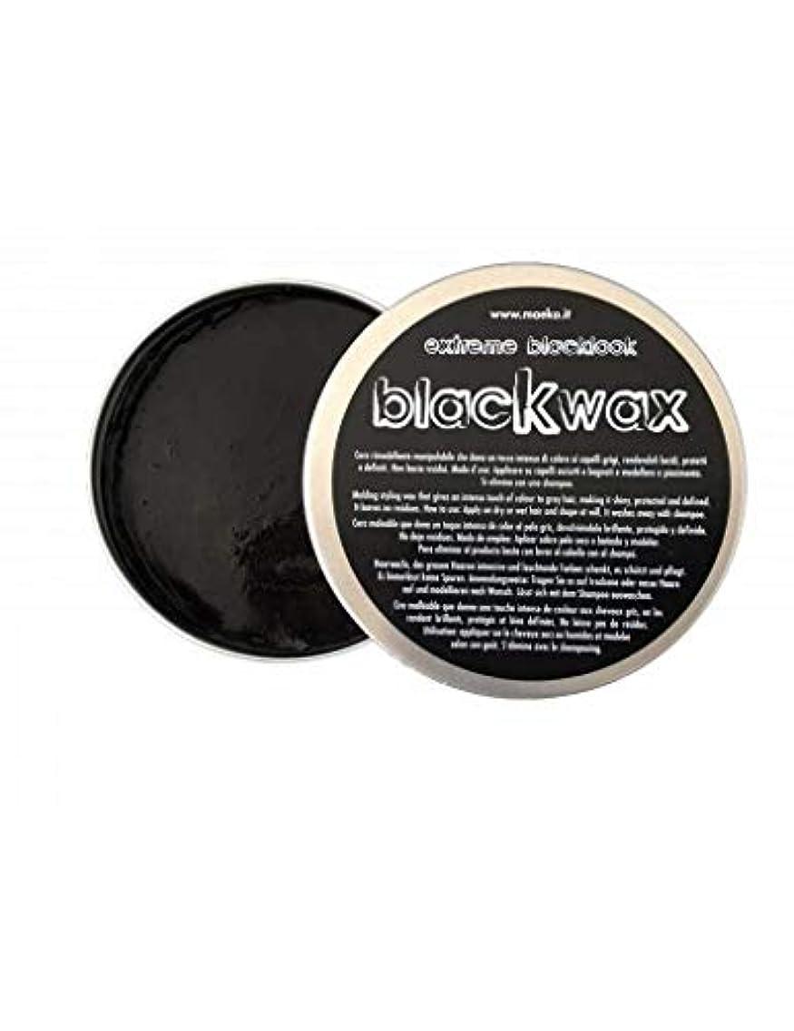 平野高める窒息させるイイモノイタリア MAEKO ブラック ワックス グリース 白髪 ぼかし 100g タイムの爽やかな香り イタリア製 Made in Italy