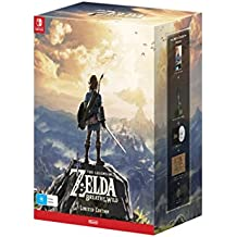 The Legend of Zelda: Breath Of The Wild Limited Edition with Master Sword of Resurrection Figurine