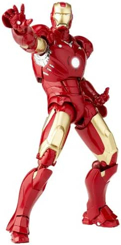 特撮リボルテック036 アイアンマン アイアンマンマーク3 ノンスケール ABS&PVC製 塗装済み アクションフィギュア