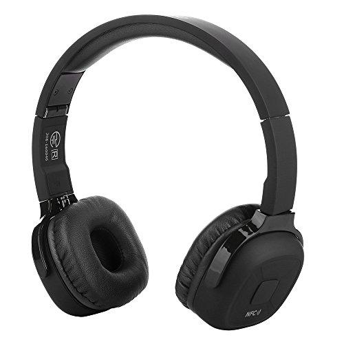 Bengoo Bluetoothヘッドホン ワイヤレス ヘッドホン ステレオヘッドホン ヘッドフォン折り 畳み スポーツ 3.5mmオーディオ有線ヘッドホン Bluetooth&NFC&マイク搭載 IOS/Androidシステムに対応 スマートホン/PC/IPHONE