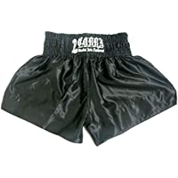 COBRA Muay Thai Shorts cl-0128 BLACK PLAIN