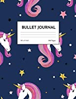 Bullet Journal: Nifty Unicorn Dot Grid Notebook - Dotted Note Pad for Kids, Girls, Teens, Tweens, Women - Gifts for Birthday and Christmas | Creative Art 00544