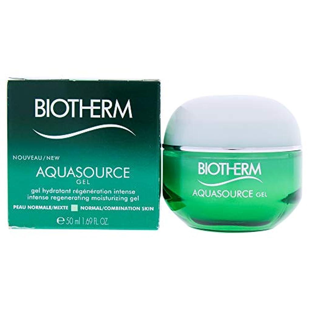 尊厳大接尾辞ビオテルム Aquasource Gel Intense Regenerating Moisturizing Gel - For Normal/Combination Skin 50ml/1.69oz並行輸入品