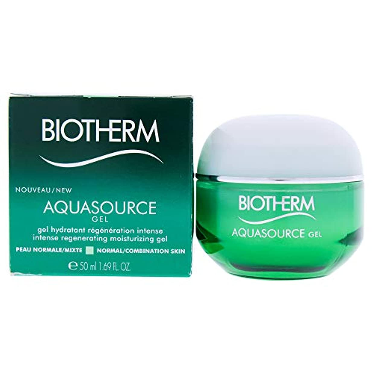青写真満足粒子ビオテルム Aquasource Gel Intense Regenerating Moisturizing Gel - For Normal/Combination Skin 50ml/1.69oz並行輸入品