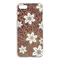 WHITENUTS iPhone8 ケース クリア ハード プリント パターンD (cw-154) スマホケース アイフォンエイト スリム 薄型 カバー スマホカバー WN-PR3659749