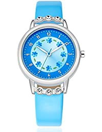 Kezzi 子供の時計 K1410 ブルー