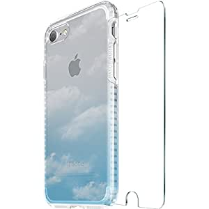 Patchworks iPhone7 ケース Level Case Sky Collection ガラスフィルム付き モーニング 【 耐衝撃 スリム オンライン専用パケ 】 アイフォン 7 ケース