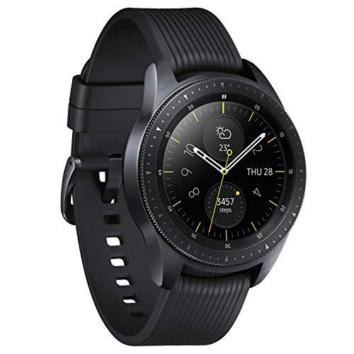 『Galaxy Watch 42mm ミッドナイトブラック【Galaxy純正 国内正規品】 Samsung スマートウォッチ iOS/Android対応 SM-R81010118JP』の2枚目の画像